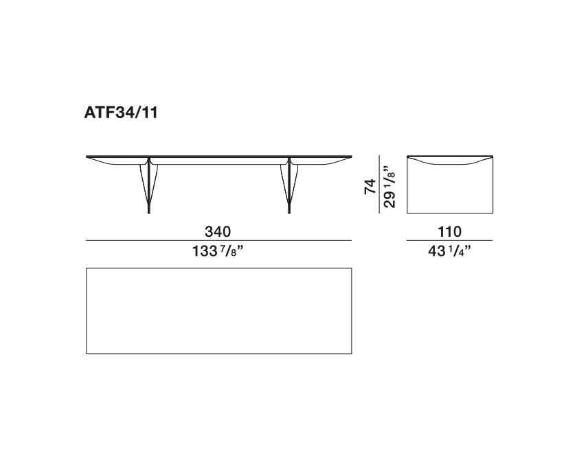 Ava-Table - ATF34-11