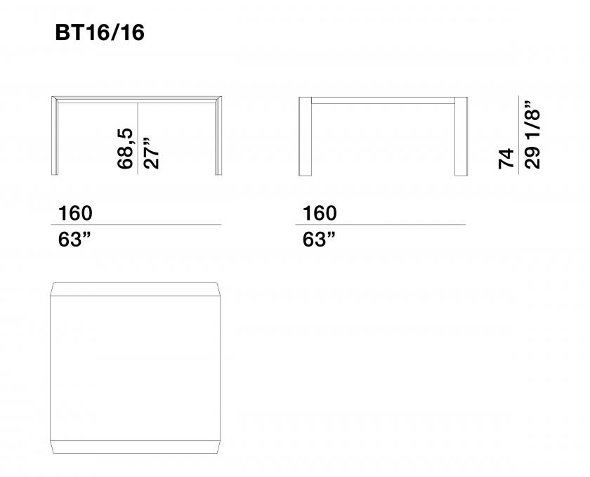 Belgravia - BT16-16_piano-vetro