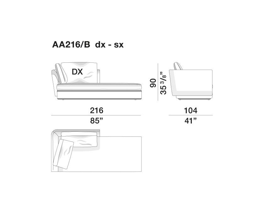 Sloane - AA216-B-dx-sx