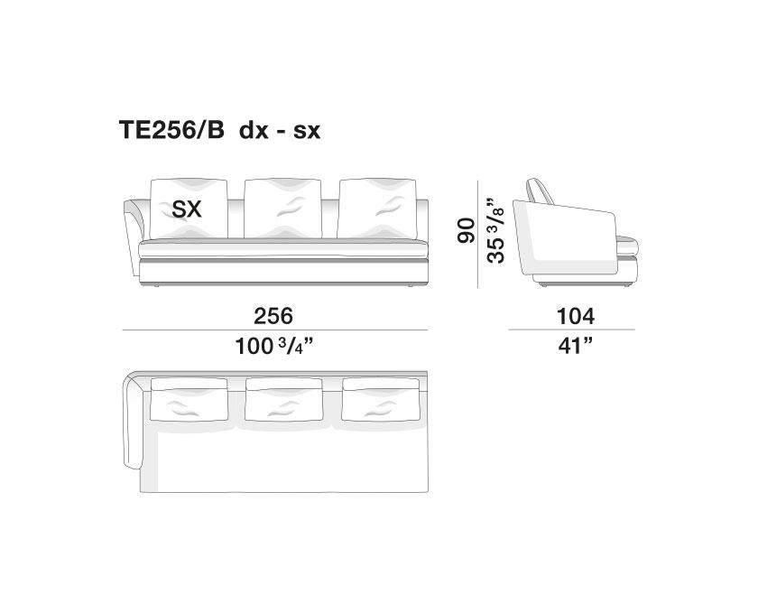 Sloane - TE256-B-dx-sx